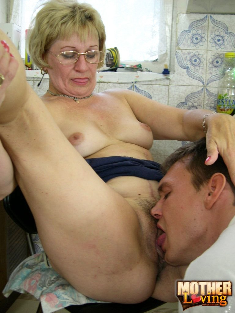 Hairy mom riding cock